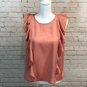 ♥️Lucky Brand sleeveless blouse top size M NWT